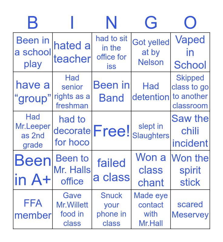 Tri County Bingo Card