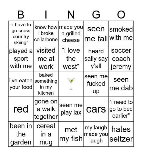andes candies Bingo Card