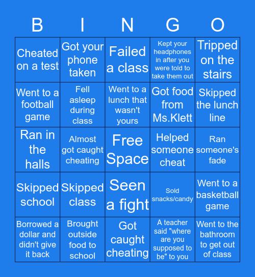 GW Bingo Card