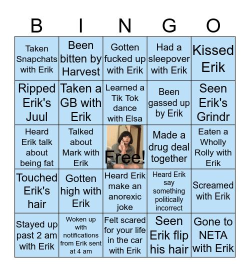 Erïque Bingo Card