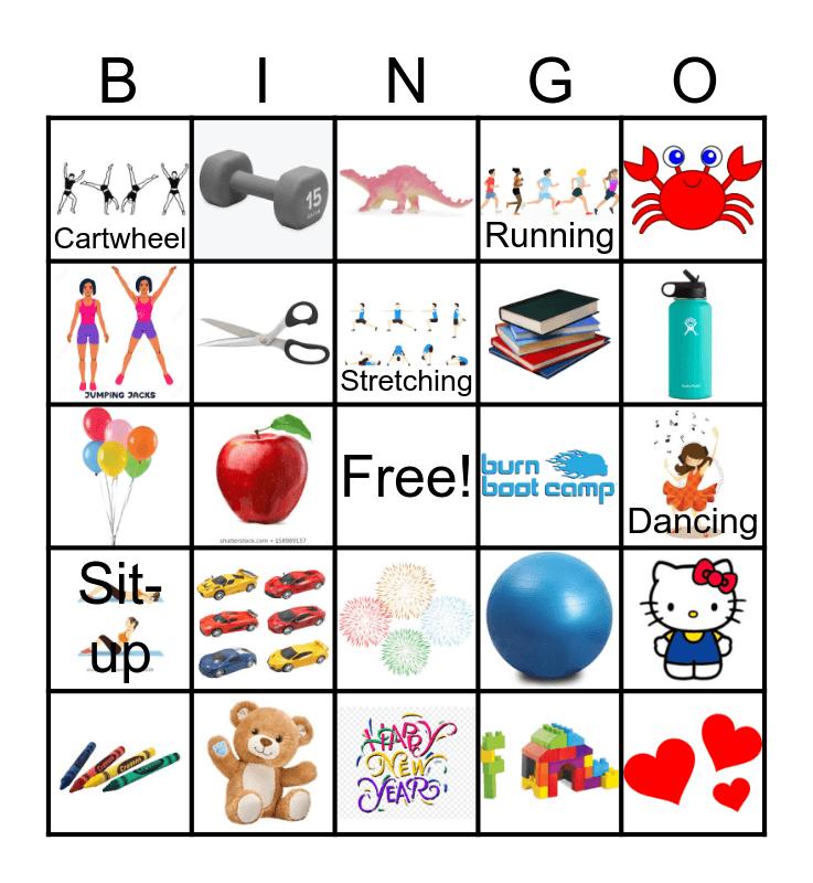 Burn Bingo Card