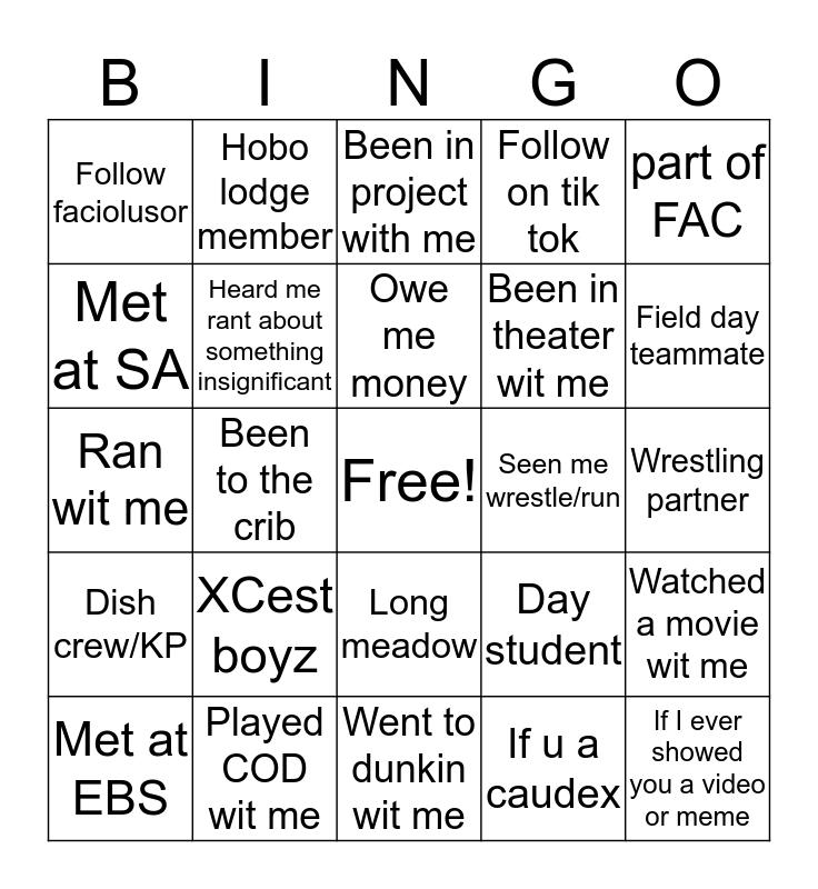 Maggi's Bingo Card