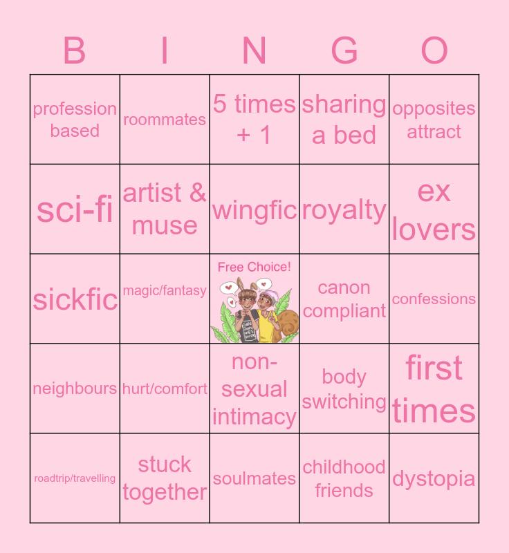 🐰 HOPEKOOK 🐿 Bingo Card