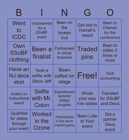 SSoBF Bingo Card