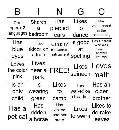 Girl Scout Bingo! Bingo Card