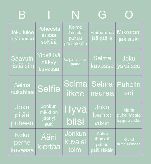 Kastejuhla Bingo Card