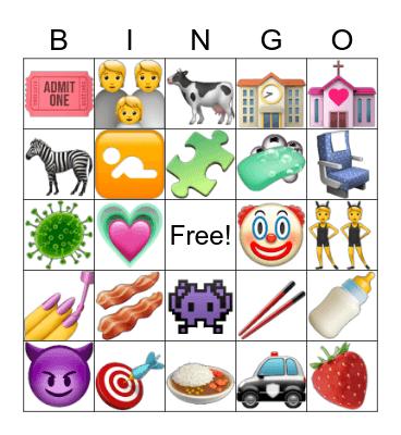 Kids Bingo Card