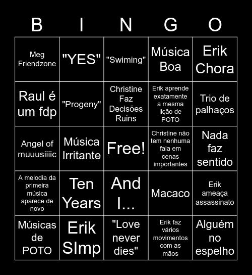 Love Never Dies Bingo Card