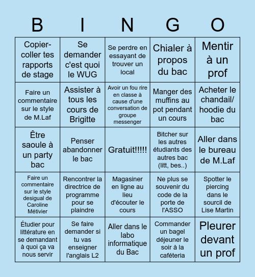bingo BEFLS Bingo Card