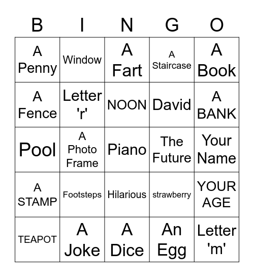 HAPPY MOTHERS DAY Bingo Card