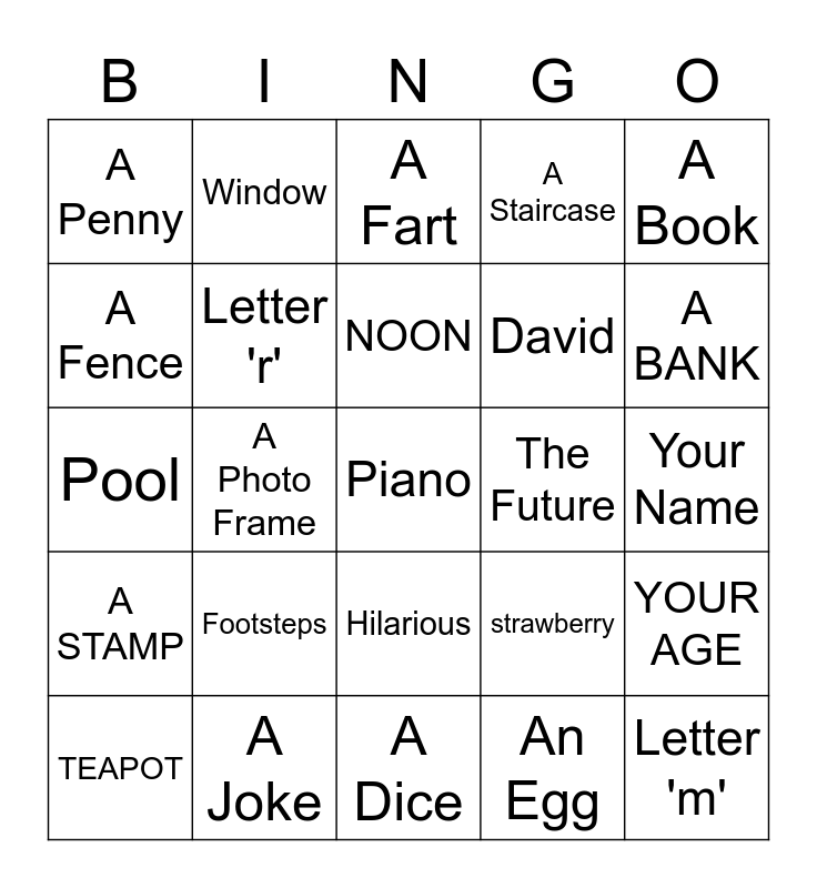 HAPPY MOTHERS DAY Bingo Card
