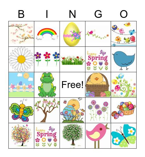 Spring! Bingo Card