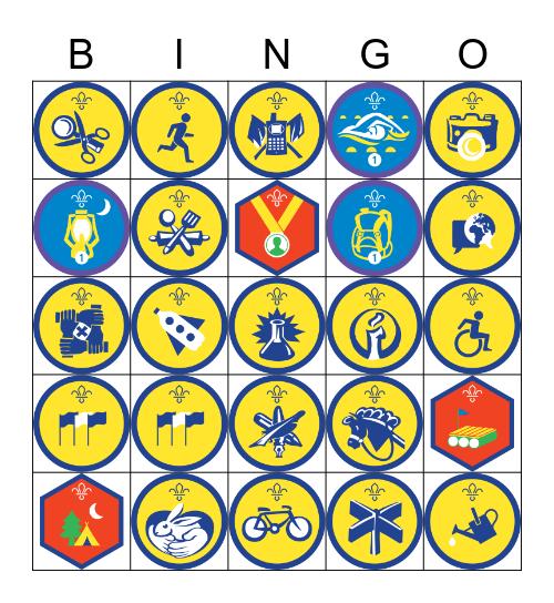 Beaver Bingo Card