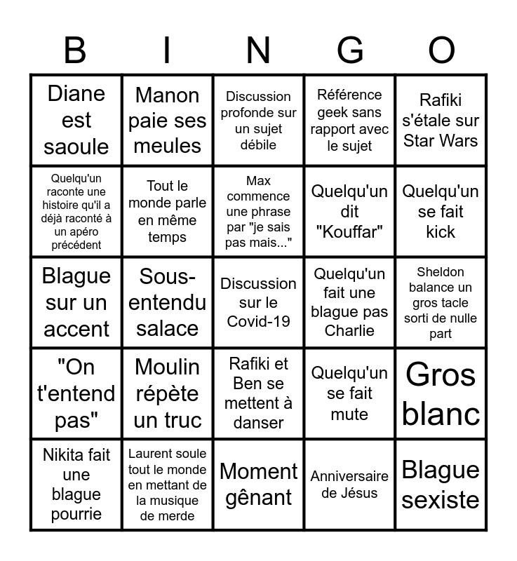 Bingo Skypérium Bingo Card