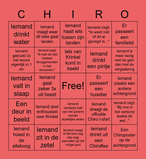 De Ultieme Nationale Planning Bingo Card
