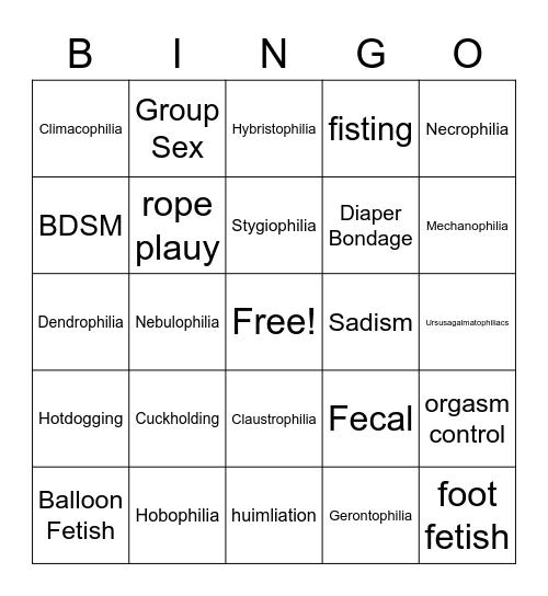 Round 1 Bingo Card
