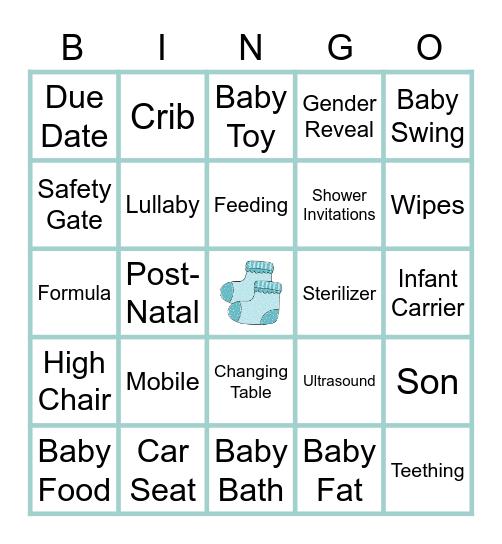 BABY BABY BINGO Card