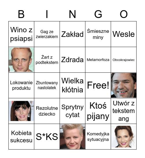 Polskie komedie romantyczne Bingo Card