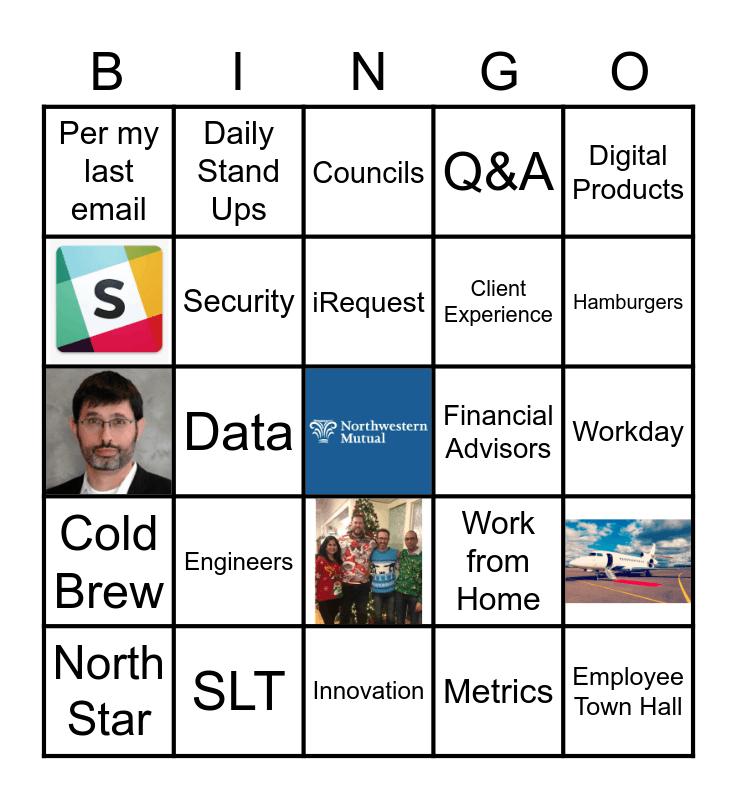 Northwestern Mutal Bingo Card
