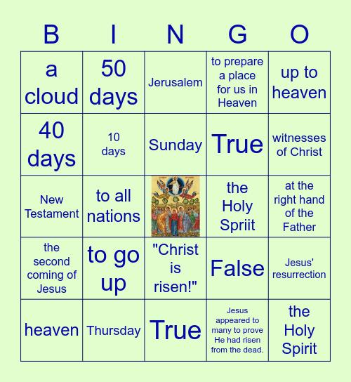 ASCENSION Bingo Card