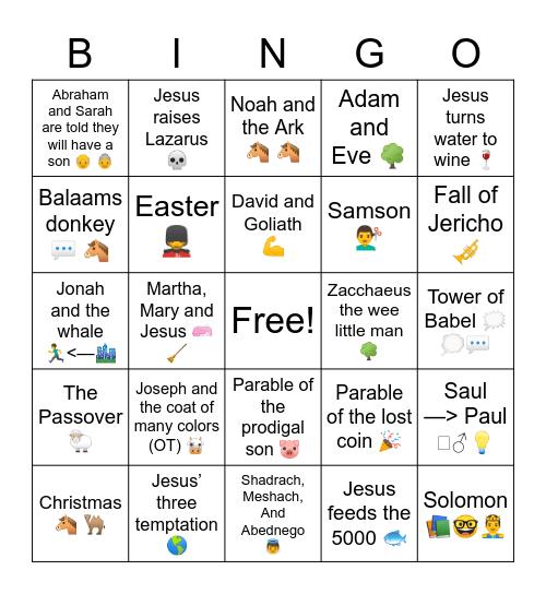 MOSAIC bingo!! Bingo Card