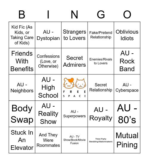 MINSUNG Bingo Card