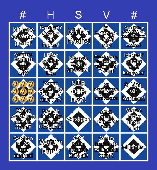 HSV - Fankommentar - Bullshit - Bingo Card