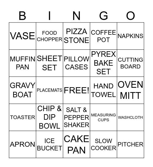G & G BAYOU BASH Bingo Card