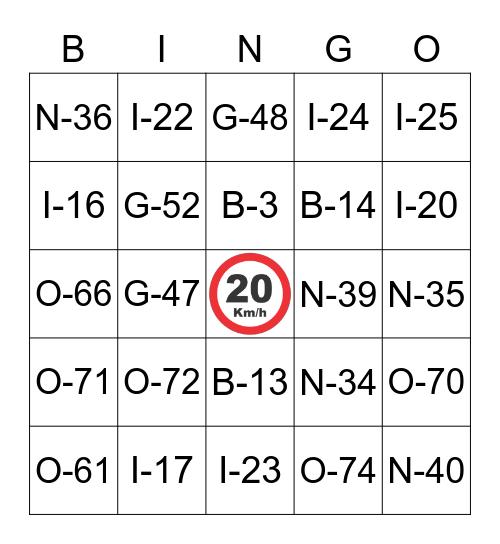 BINGO JUNINO DO J4PETO Bingo Card