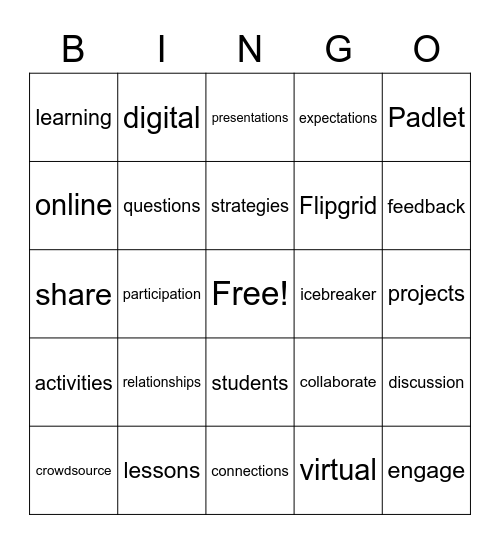 Building Relationships & Engagement Bingo! Bingo Card