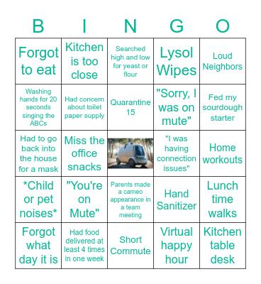 WFH - Nuro Edition Bingo Card
