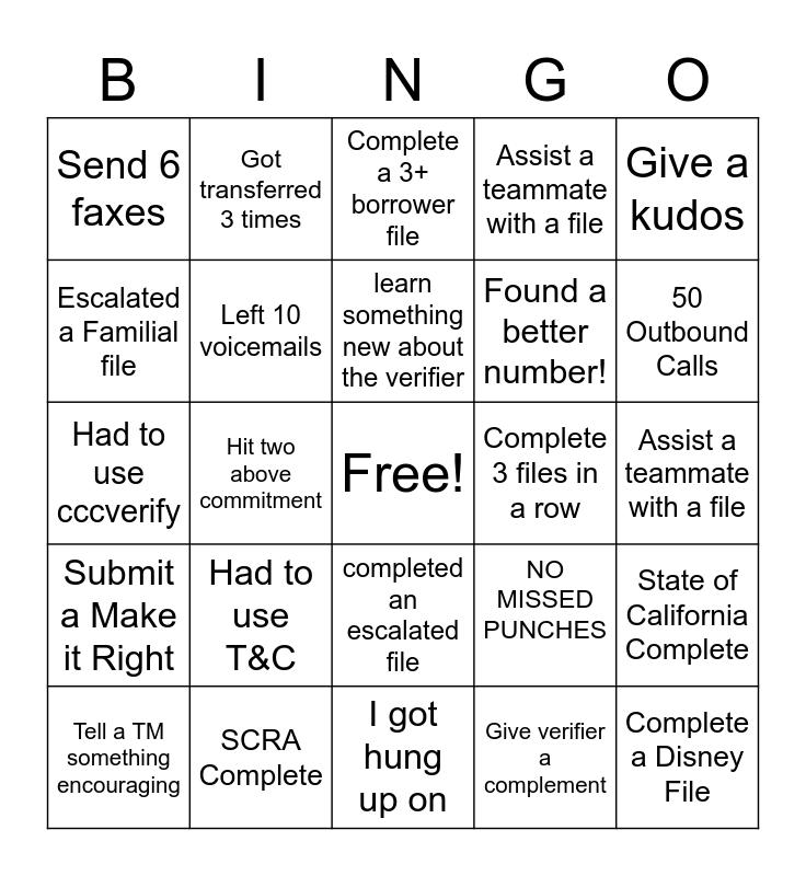 Bruins Bingo Card