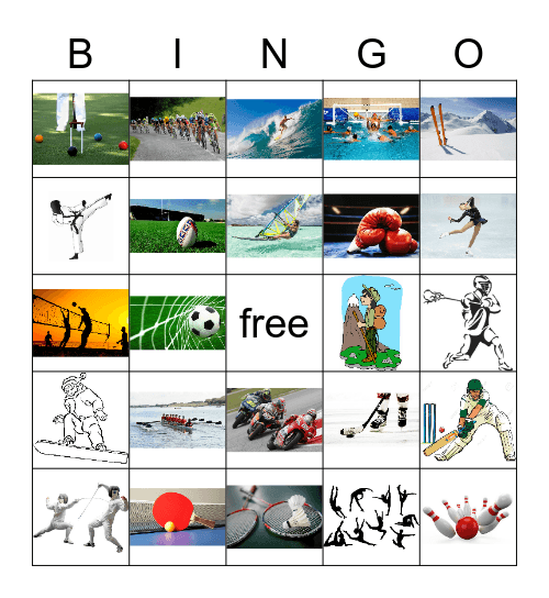 All Star Bing 2019, sports Bingo Card
