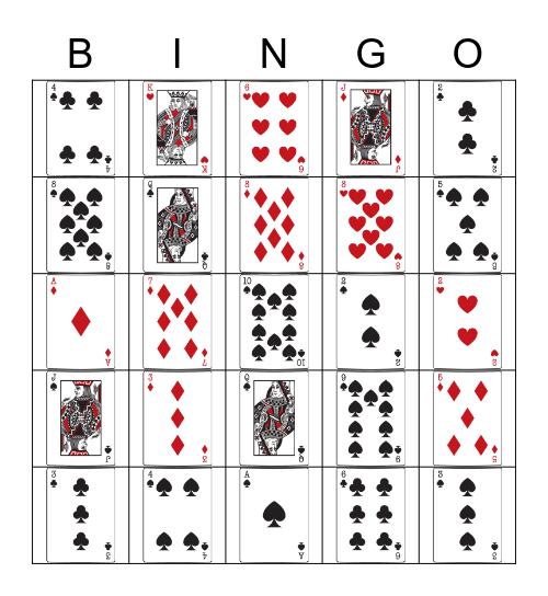 A Day At the Casino Bingo Card