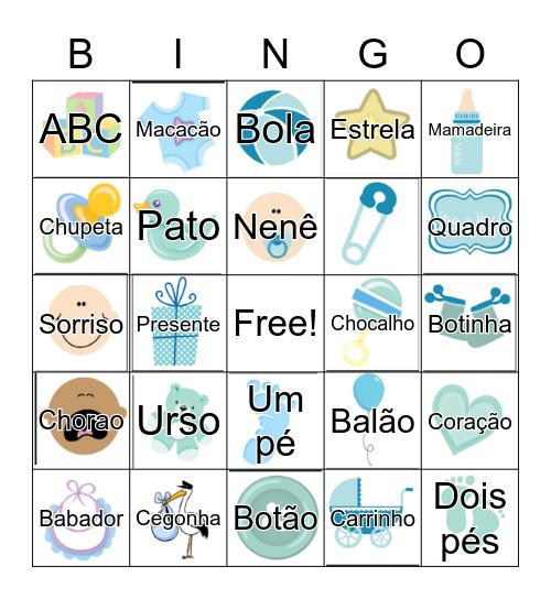 CHÁ Manuela e Maurício Bingo Card
