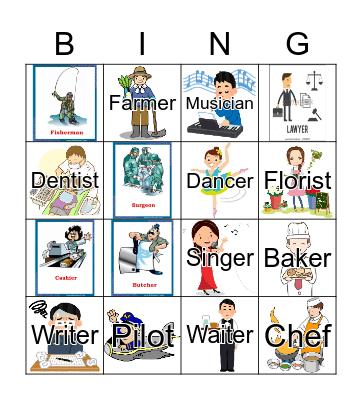JOBS Bingo Card