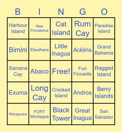 HAPPY INDEPENDENCE Bingo Card