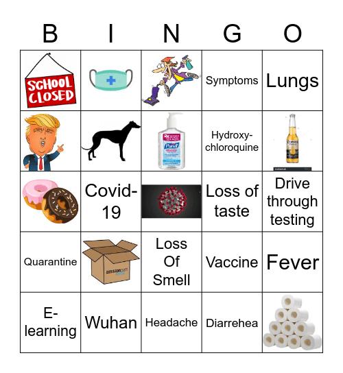 COVID - 19 Bingo Card