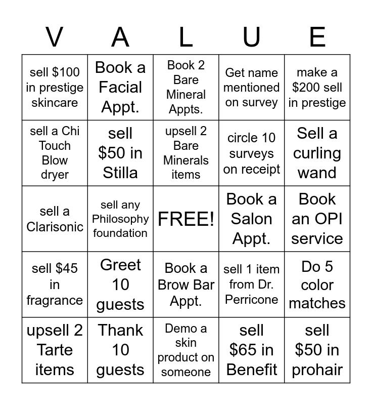 Win Together Bingo Card