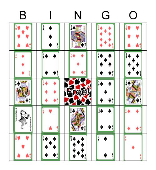 FULL HOUSE Bingo Card