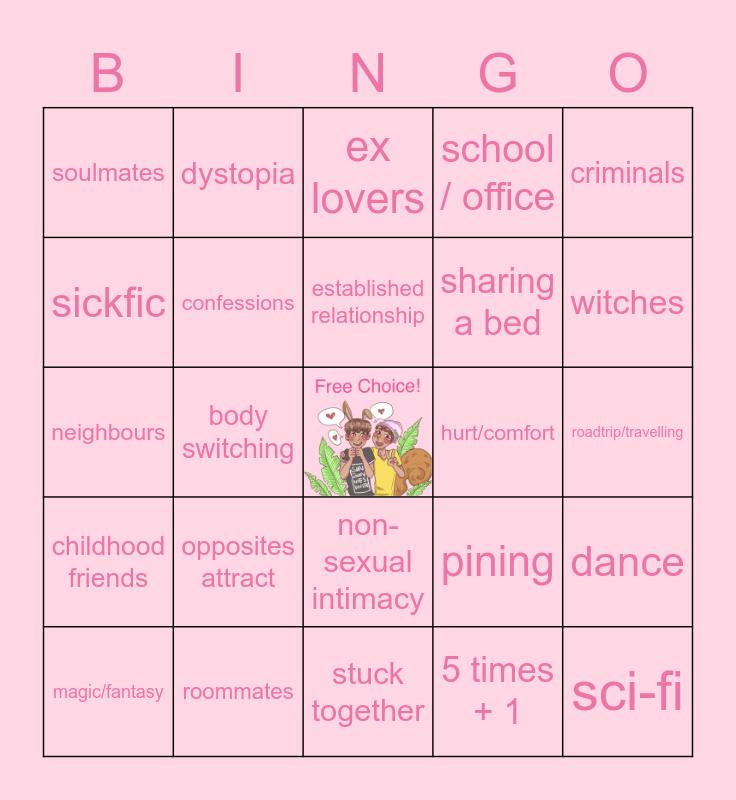🐰HOPEKOOK🐿 Bingo Card