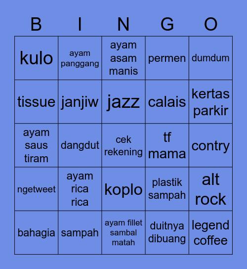 ✮ minju! ✮ Bingo Card