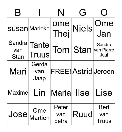 giepmanne  Bingo Card