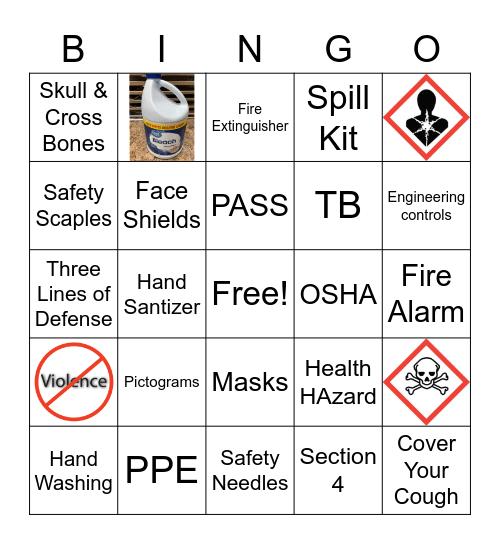 OSHA Bingo Card
