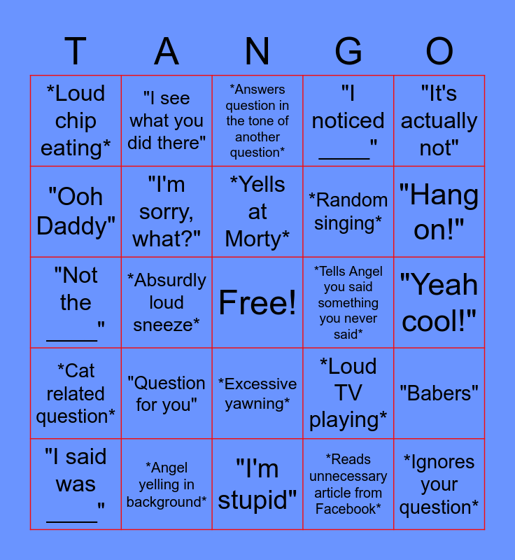 Brecka Bingo! Bingo Card
