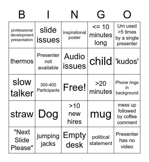 9/2/2020 Bingo Card
