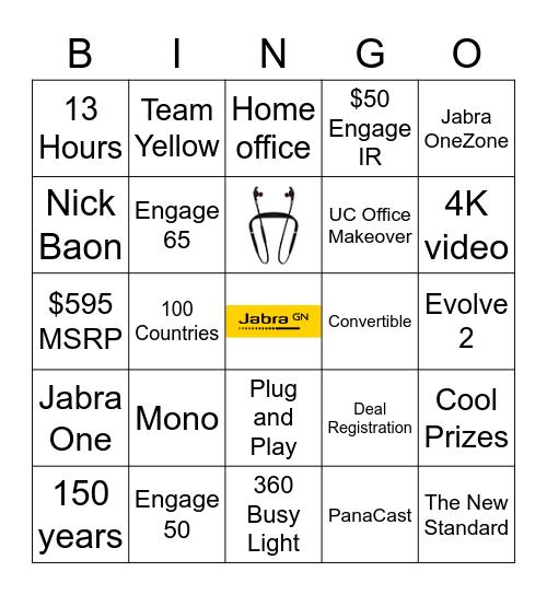 Jabra BINGO Card