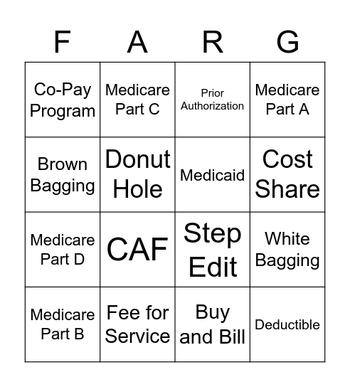Foundingo Bingo Card