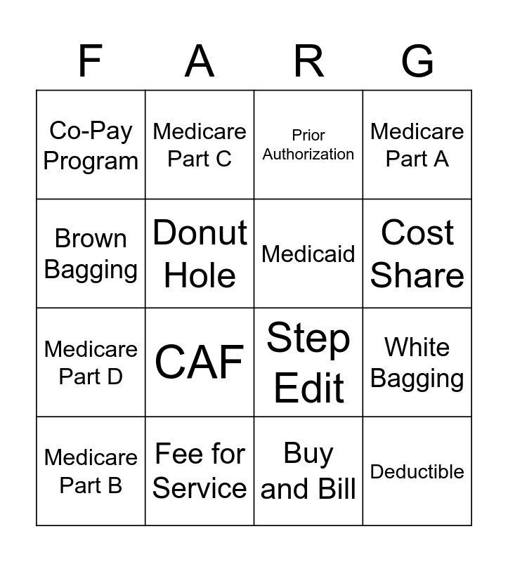 Foundingo Bingo Card