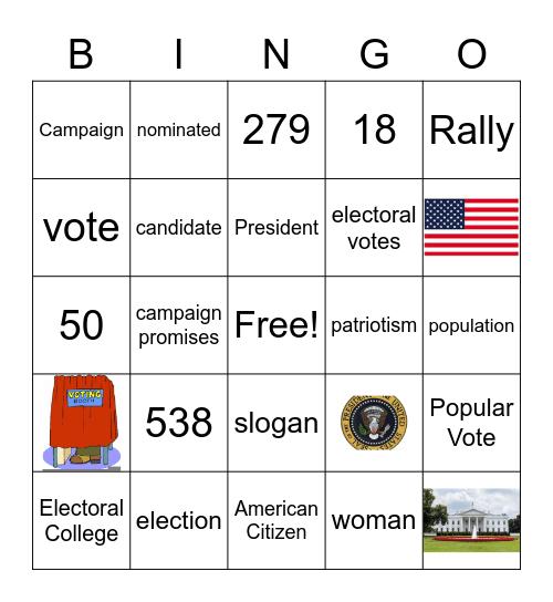 Becoming President Bingo Card